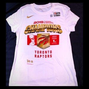 Nike NBA Toronto Raptors Champions Tee Shirt